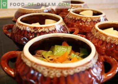 I funghi in vaso sono le migliori ricette. Come cucinare correttamente e gustosi funghi in vaso.