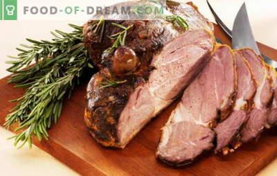 Carne cotta da un pezzo - le sei migliori ricette. Ricette per carne al cartoccio, manica, pasta, in una pentola a cottura lenta