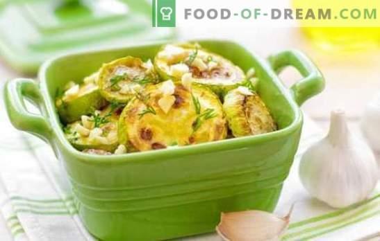 Zucchine con cipolle - una coincidenza fortunata! Le migliori ricette di zucchine con cipolle, carote, pomodori e altre verdure