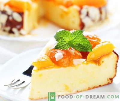 Casseruola di cheesecake - le migliori ricette. Come cucinare in modo appropriato e gustoso casseruola di ricotta.