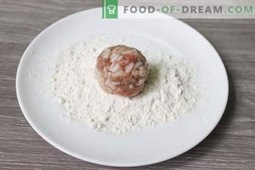 Polpette di carne di riccio - un piatto di carne per bambini e adulti!