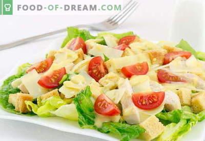 Caesar salad with chicken - le migliori ricette. Come cucinare correttamente e gustoso un'insalata