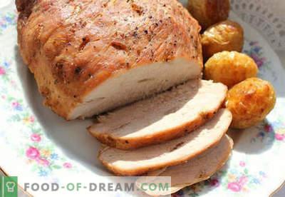 Prosciutto cotto in una pentola a cottura lenta - le migliori ricette. Come cucinare correttamente e gustoso prosciutto in un multicooker a casa.