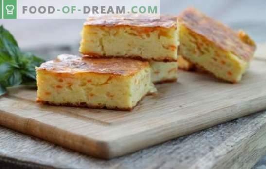 Casseruola di ricotta e carote - un dessert utile e facile da preparare. Le migliori ricette per una delicata casseruola di carote e cagliate