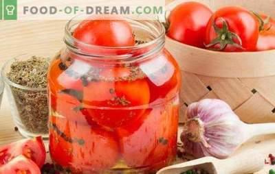 Pomodori piccanti per l'inverno: uno spuntino piccante per tutte le occasioni. Ricette classiche e creative di pomodori piccanti per l'inverno