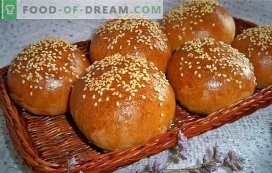 Ricetta luscolata: la cottura si scioglie in bocca! Ricette per panini lussureggianti con semi di papavero, frutta secca, bacche e noci