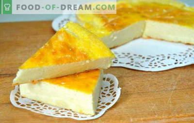 Kefir casseruola - la più amata del mondo! Diverse ricette di verdure e fiocchi di latte teneri aromatici in casseruola su kefir