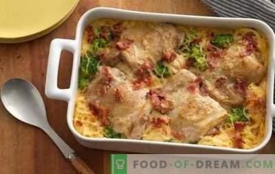 Patate al forno con pollo: una ricetta passo dopo passo. Come cucinare rapidamente e gustose deliziose patate al forno con pollo su ricette passo-passo