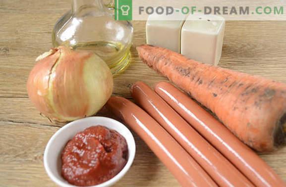 Salsa di salsiccia con concentrato di pomodoro: delizioso