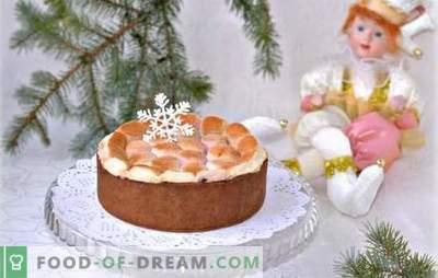 La torta con marshmallow è un piacere delicato. Come cuocere una torta con crema o soufflé di marshmallows, come farlo senza cottura