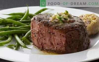 Entrecote al forno: classica cucina francese! Cottura dell'entrecote al forno di manzo, agnello, vitello e maiale