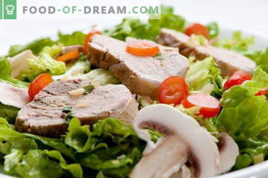Insalata di maiale - le migliori ricette. Come cucinare correttamente e gustoso insalata di maiale.