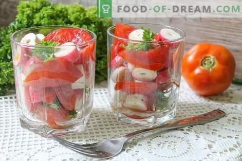 Snack di pomodoro istantaneo in 15 minuti: bellezza, gusto e benefici delle verdure estive