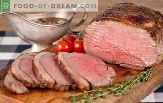 Manzo arrosto di manzo - per gli inglesi e non solo! Nuove e classiche ricette di roast beef in diverse marinate, con funghi, verdure