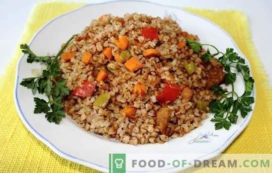 Grano saraceno con carne in una pentola a cottura lenta - porridge nutriente! Una selezione delle migliori ricette per il grano saraceno con la carne in una pentola a cottura lenta