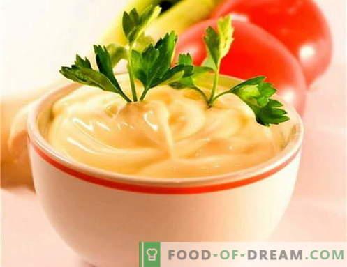 Salsa di formaggio - le migliori ricette. Come cucinare correttamente e cucinare la salsa di formaggio.