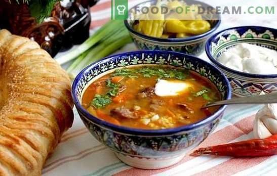 Ricetta passo-passo per zuppa kharcho di pollo, agnello o manzo. Metodi di cottura della zuppa kharcho di pollo in una ricetta passo per passo