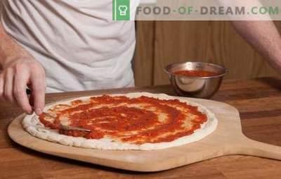 La salsa di pomodoro per pizza è la base della torta italiana! Ricette di salse di pomodoro per pizza da pomodori, pasta, aglio, olive