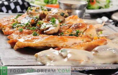 Carne alla francese con funghi al forno - lo amiamo anche noi! Ricette di carne francese con funghi, pomodori, patate