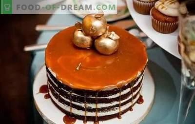 Glassa al miele: bel design da forno. Variazioni di miele glassato con sciroppi, frutta e cioccolato