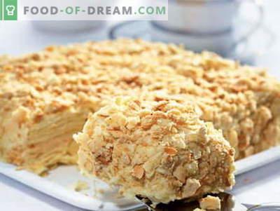 Torte con latte condensato - le migliori ricette. Come cucinare correttamente e gustoso una torta con latte condensato.