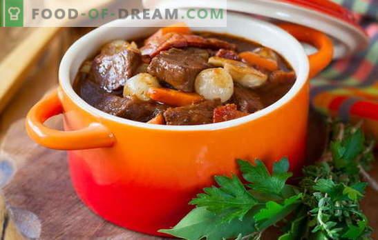 Stufato di maiale - cuciniamo con piacere! Diverse ricette di spezzatino di maiale con verdure, grano saraceno, riso, fagiolini