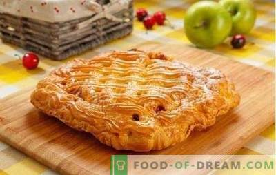 Cherry Yeast Pie - Sweet Tentation! Ricette di diverse torte di lievito: aperto e chiuso