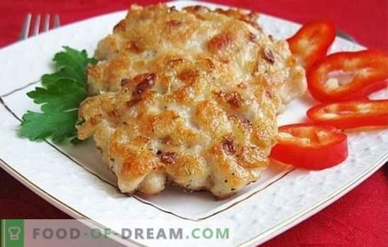 cotolette di petto di pollo: come cucinare? Nei giorni feriali e festivi: ricette insolite per cotolette di petto di pollo