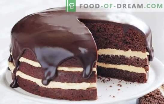 Технология за приготвяне на какао и млечна глазура. Кулинарната гордост е красивата какаова и млечна глазура за тортата
