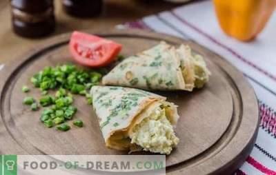 Uno spuntino ebraico è sempre gustoso, economico e abbondante! Cucinare fragranti e inusuali snack ebraici con formaggio, verdure, pesce, uova
