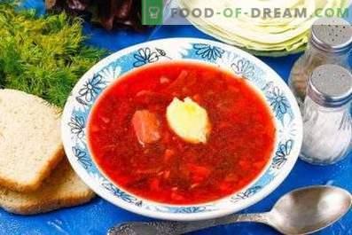 Come cucinare la zuppa di barbabietola rossa con barbabietola rossa