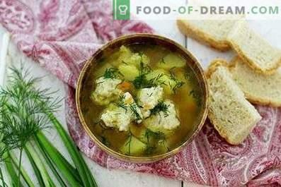 Zuppa con gnocchi