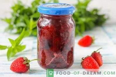 Marmellata di fragole in un