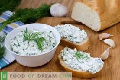 Ricotta con erbe e aglio