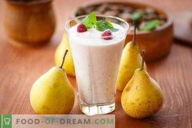 Smoothies di pere