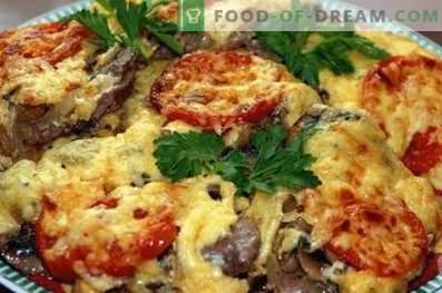 Carne alla francese con funghi