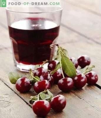 succo di ciliegia per l'inverno