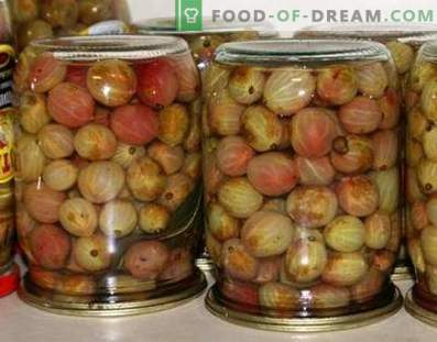 Gooseberry Compote for the Winter