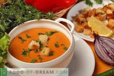 Zuppa di crema di lenticchie