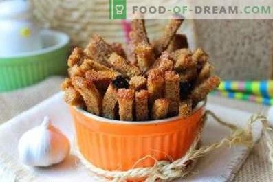 Cracker di aglio