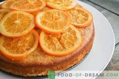 Charlotte con arance