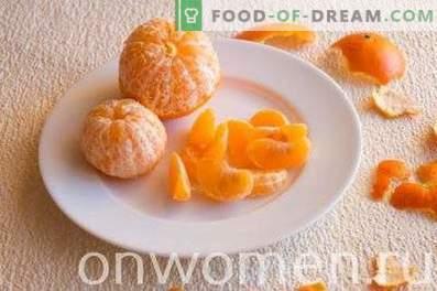 Frullato al mandarino