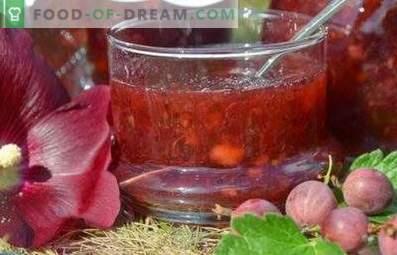 Confettura di uva spina senza cottura