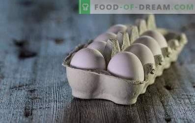 Quante uova sono conservate nel frigorifero e senza