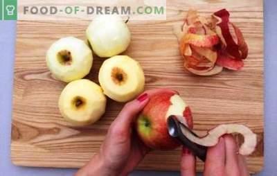 Mrożone jabłka: różne sposoby zamrażania soczystych owoców. Jak zamrozić jabłka na całą zimę, w plastrach, w postaci puree ziemniaczanego