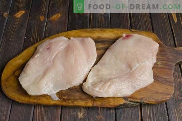 Prantsuse stiilis kana liha šampinjonidega ja kartulitega